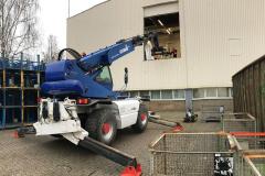 Seeger-Recycling Entsorgung & Dienstleister - Entsorgungsaktion mit Manitu