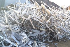 Seeger-Recycling Entsorgung & Dienstleister - Aluminium Flugzeugteile