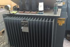 Seeger-Recycling Entsorgung & Dienstleister - Gleichrichter Trafo