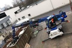 Seeger-Recycling Entsorgung & Dienstleister - Schrott Verladung mit Manitu