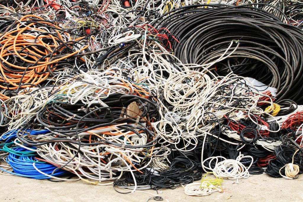 Seeger Recycling Entsorgung Dienstleister Rhein-Main Kabel Ankauf